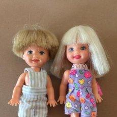 Barbie y Ken: MUNECAS TOMMY Y SHELLY KELLY VINTAGE 1994 ORIGINALES DE MATTEL. Lote 171773845
