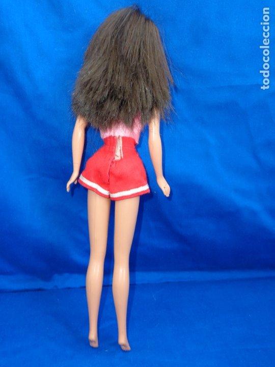 Barbie y Ken: BARBIE - BONITA MUÑECA BARBIE PELO CASTAÑO EN LA NUCA MATTEL INC 1990 VER FOTOS! SM - Foto 4 - 173871902