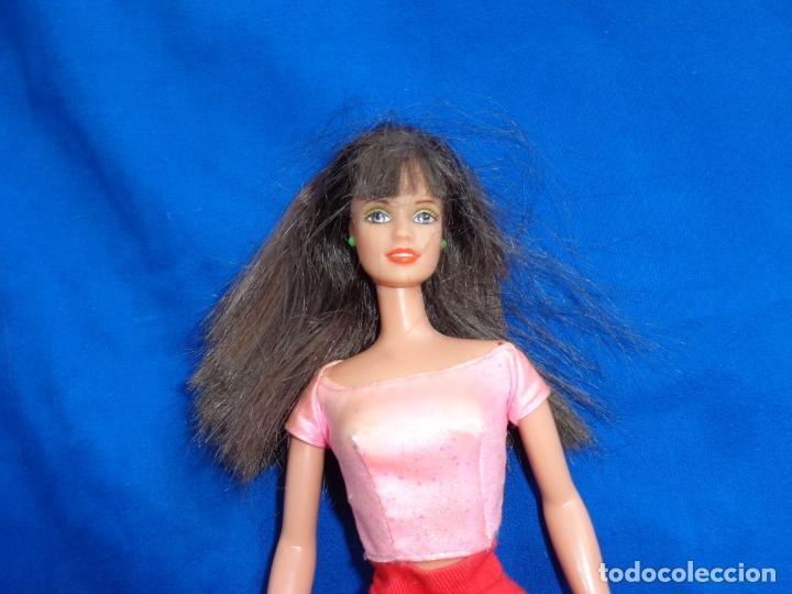 Barbie y Ken: BARBIE - BONITA MUÑECA BARBIE PELO CASTAÑO EN LA NUCA MATTEL INC 1990 VER FOTOS! SM - Foto 9 - 173871902
