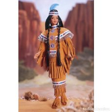 Barbie y Ken: BARBIE COLLECTOR DOLLS OF THE WORLD NATIVE AMERICAN. Lote 174221357