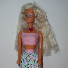 Barbie y Ken: ANTIGUA MUÑECA BARBIE GLITTER BEACH AÑOS 90 MATTEL. Lote 174980108