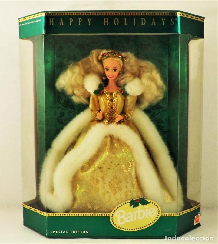 BARBIE DE MATTEL. HAPPY HOLIDAYS (Juguetes - Muñeca Extranjera Moderna - Barbie y Ken)