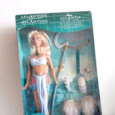 Barbie y Ken: MUÑECA BARBIE PRINCESA KIDA ATLANTIS DISNEY EN CAJA MATTEL. Lote 153327582