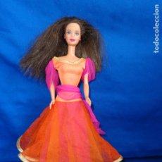 Barbie y Ken: BARBIE - BONITA MUÑECA BARBIE PELO CASTAÑO EN LA NUCA 1991 MATTEL INC, VER FOTOS! SM. Lote 176693775