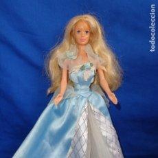 Barbie y Ken: BARBIE - BONITA BARBIE BELLA DURMIENTE, ABRE Y CIERRA LOS OJOS, VER FOTOS! SM. Lote 176694989