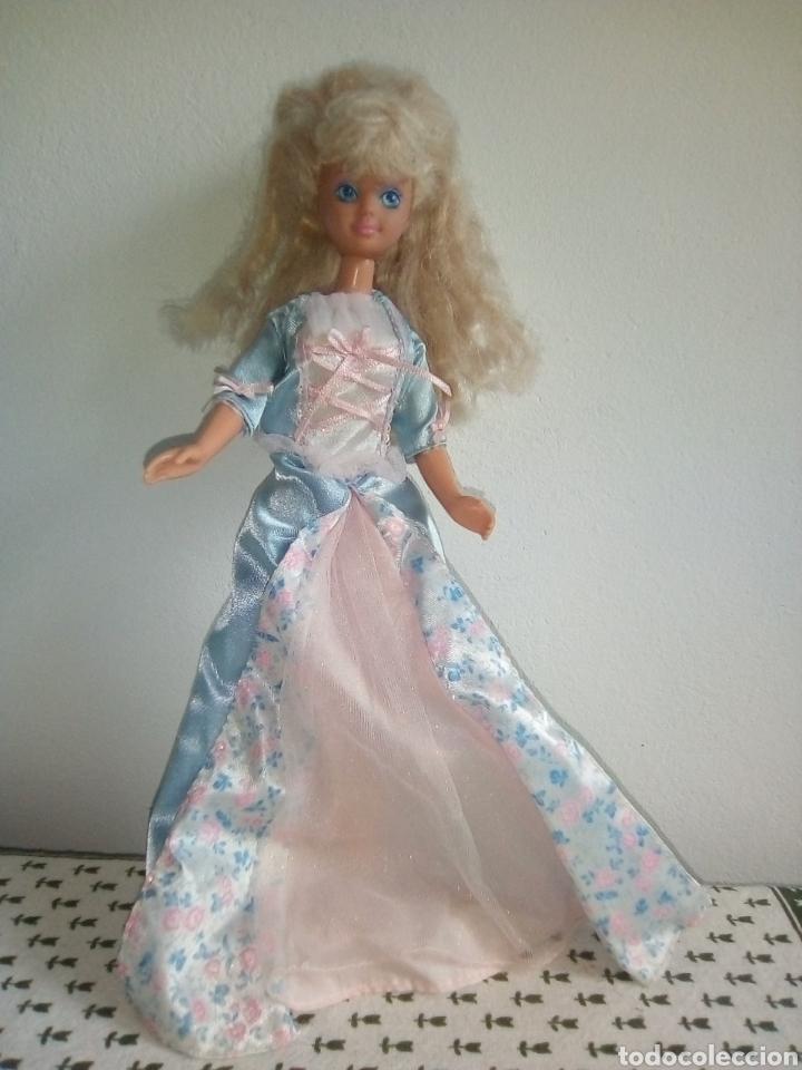 PRECIOSA SKIPPER BARBIE MATTEL 1987 VESTIDA PRINCESA ERIKA (Juguetes - Muñeca Extranjera Moderna - Barbie y Ken)