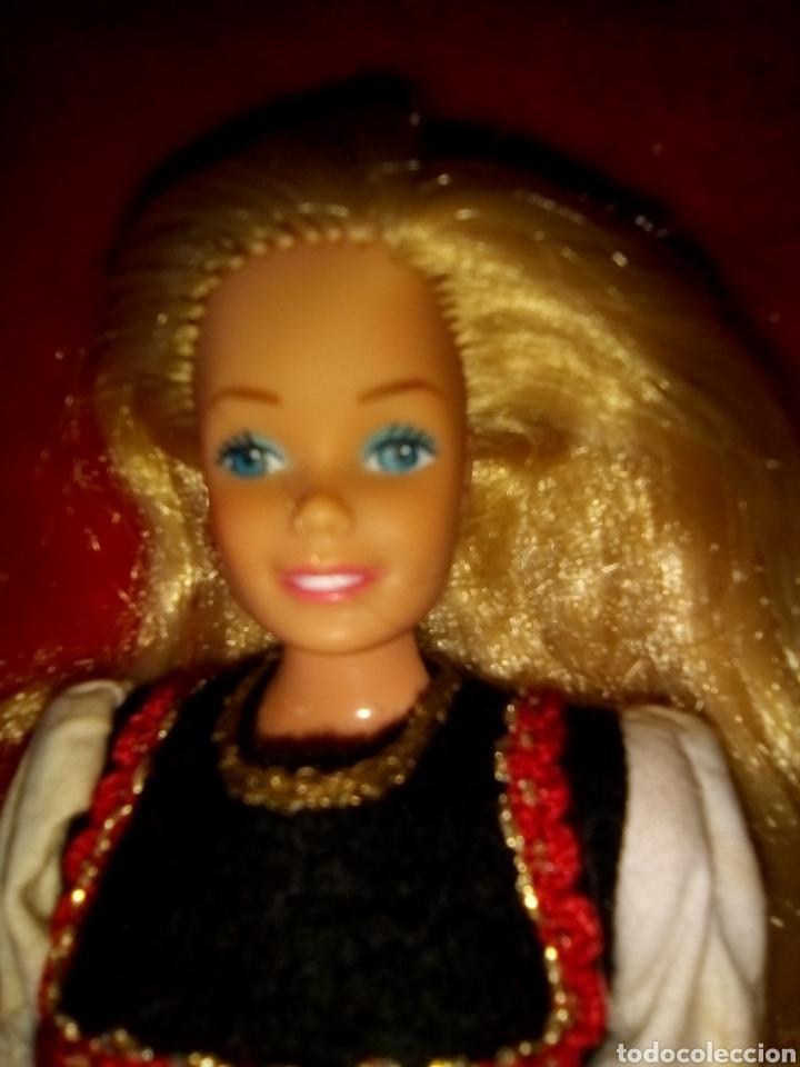Barbie y Ken: PRECIOSA BARBIE FASHION PLAY RUBIO OSCURO 1966 HONG KONG - Foto 3 - 177703859