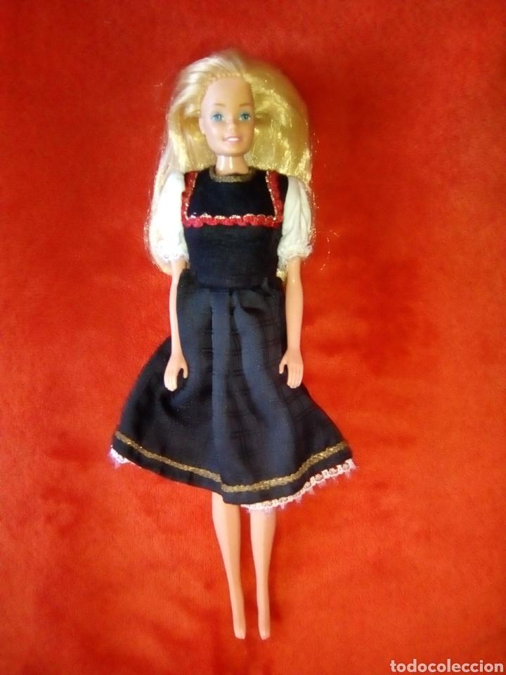 PRECIOSA BARBIE FASHION PLAY RUBIO OSCURO 1966 HONG KONG (Juguetes - Muñeca Extranjera Moderna - Barbie y Ken)