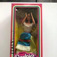 Barbie y Ken: BARBIE COLECCIÓN DOLLS OF THE WORLD. ITALY. 1980. NUEVA EN SU CAJA. Lote 177858574
