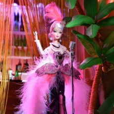 Barbie y Ken: FLAMAZING CELEBRATION BARBIE SILSKTONE 2019 SPANISH DOLL CONVENTION MAGIA 2000. Lote 178732847