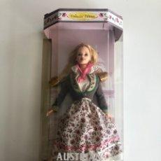 Barbie y Ken: BARBIE (BARBIE OF THE WORLD COLLECTION) AUSTRIAN. NUEVA EN SU CAJA.. Lote 178763868