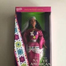 Barbie y Ken: BARBIE (BARBIE OF THE WORLD COLLECTION) NATIVE AMERICAN. THIRD EDITION. NUEVA EN SU CAJA.. Lote 178769050
