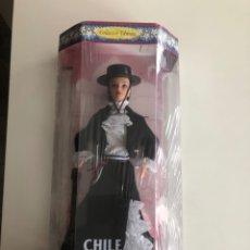 Barbie y Ken: BARBIE (BARBIE OF THE WORLD COLLECTION) CHILE. NUEVA EN SU CAJA.. Lote 178772377