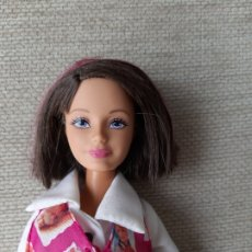 Barbie y Ken: MUÑECA SKIPPER HERMANA DE BARBIE VESTIDA MORENA CON MECHAS. Lote 179169903