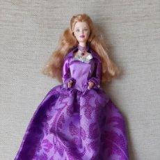 Barbie y Ken: MUÑECA BARBIE VESTIDA DE PRINCESA MOLDE MACKIE. Lote 179170011