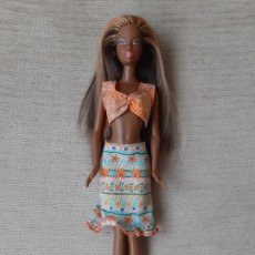 Barbie y Ken: MUÑECA BARBIE NIKKIE MULATA NEGRA MORENA AA VESTIDA. Lote 179170177