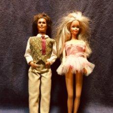 Barbie y Ken: ANTIGUA PAREJA BARBIE Y KEN DISCO. Lote 181007800