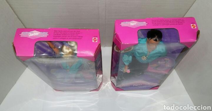 Barbie y Ken: BARBIE PATINADORA ARTÍSTICA Y KEN PATINADOR. NUEVO. MATTEL.1997. GIRA Y GIRA.CAMPEÓN.REF 19165 19221 - Foto 5 - 185752340