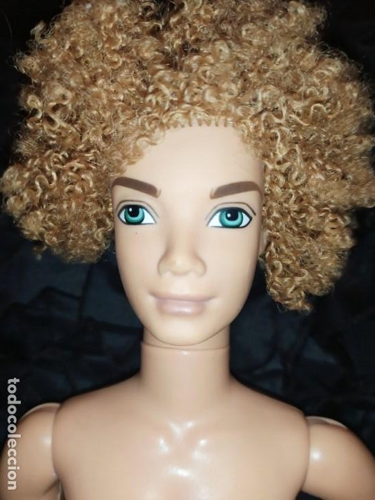 Barbie y Ken: MUÑECO ARTICULADO MATTEL INC 1975 1999 KENT NOVIO BARBIE?UNICO PELO RUBIO RIZADO GUAPO - Foto 7 - 186271470