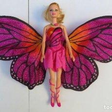 Barbie y Ken: MUÑECA BARBIE MARIPOSA - PRINCESA HADA. Lote 189824402