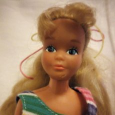 Barbie y Ken: SKIPPER MATTEL 1967 HERMANA BARBIE,CON VESTIDO ORIGINAL DE BARBIE. Lote 203733153