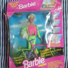 Barbie y Ken: BARBIE BIKE CICLISTA CICLYIN MATTEL 1993 DESCATALOGADA Y EN SU CAJA ORIGINAL COMPLETA!!. Lote 190011723