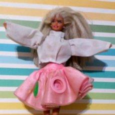 Barbie y Ken: BARBIE 1975-1966 CON FALDA CAN CAN Y BLUSA. Lote 190391072