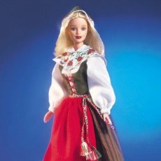 Barbie y Ken: BARBIE COLLECTOR DOLLS OF THE WORLD SWEDISH. Lote 190771800