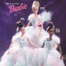 Barbie y Ken: BARBIE COLLECTOR BALLET MASQUERADE RUBIA. Lote 190772307