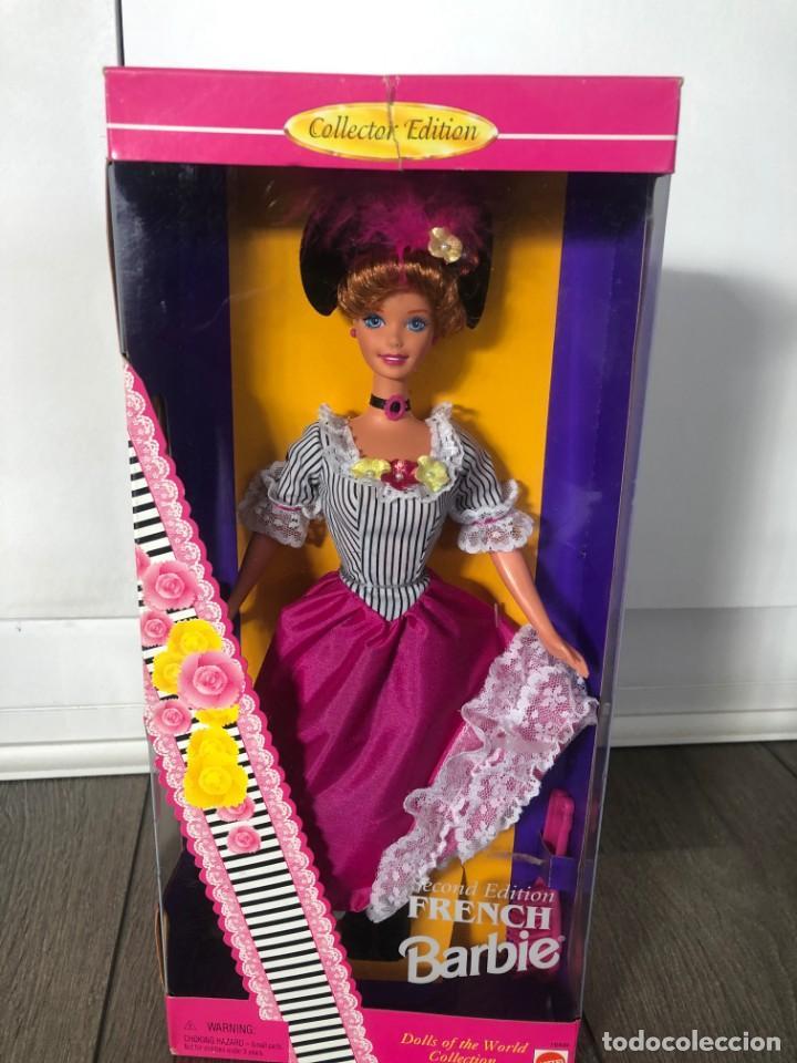 BARBIE ( COLLECTOR) BARBIE OF THE WORLD COLLECTION)1996 NUEVA EN SU CAJA. (Juguetes - Muñeca Extranjera Moderna - Barbie y Ken)