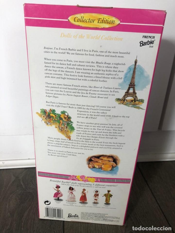 Barbie y Ken: Barbie ( Collector) barbie of the world collection)1996 Nueva en su caja. - Foto 2 - 203597338