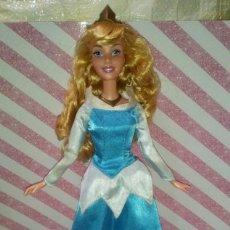 Barbie y Ken: PRECIOSA MUÑECA BARBIE AURORA, LA BELLA DURMIENTE, CON SU TRAJE AZUL - DISNEY - MATTEL, DOLL,POUPEE. Lote 191845006