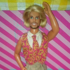 Barbie y Ken: GUAPO MUÑECO KEN BARBA MAGICA RUBIO, SHAVE'N STYLE KEN, NOVIO DE BARBIE - MATTEL - 1999 - DOLL. Lote 191939491