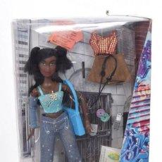 Barbie y Ken: MUÑECA FLAVA EN CAJA (MATTEL) KIYONI. Lote 195733297
