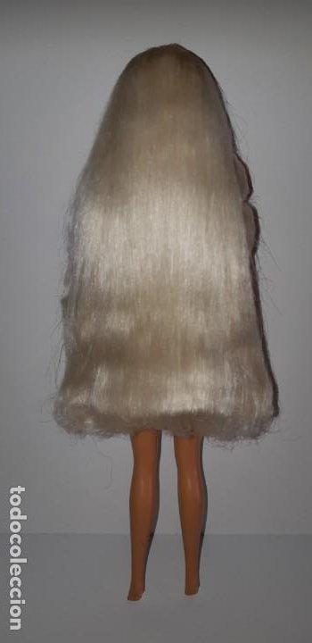 Barbie y Ken: MUÑECA BARBIE PEINADOS Y BRILLOS GLITTER HAIR DE MATTEL AÑOS 90 - Foto 6 - 199235910
