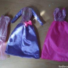 Barbie y Ken: LOTE VESTIDOS BARBIE AÑOS 90 MATTEL VINTAGE SUPERSTAR. Lote 201182547