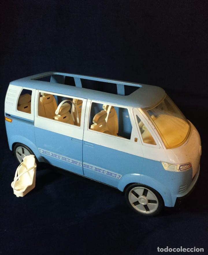 MUÑECA BARBIE Nº62 MONOVOLUMEN WOLKSWAGEN AZUL (Juguetes - Muñeca Extranjera Moderna - Barbie y Ken)