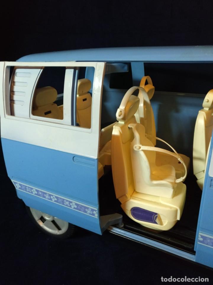 Barbie y Ken: Muñeca BARBIE Nº62 Monovolumen Wolkswagen azul - Foto 3 - 201793880