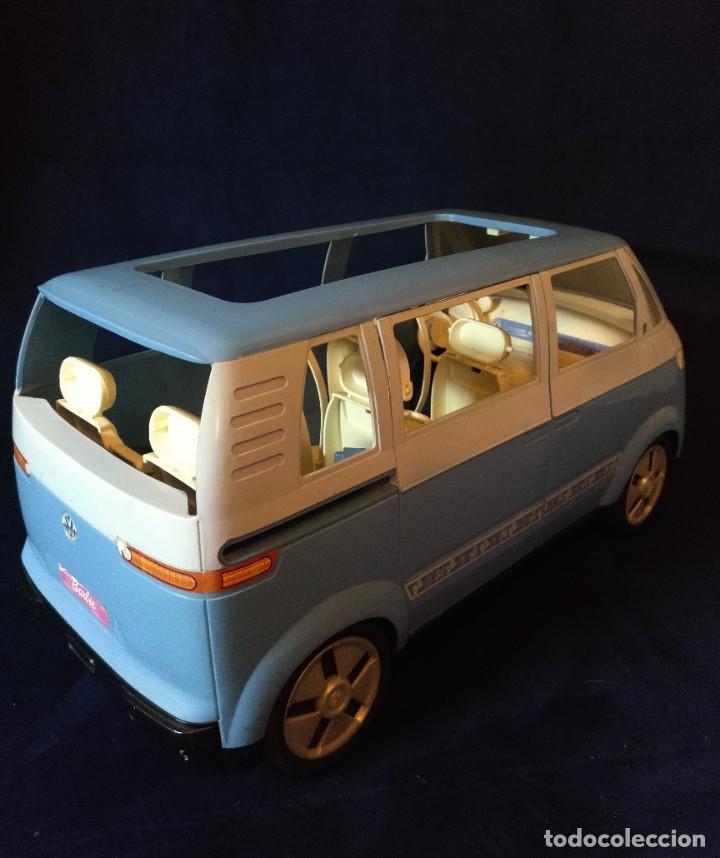 Barbie y Ken: Muñeca BARBIE Nº62 Monovolumen Wolkswagen azul - Foto 4 - 201793880
