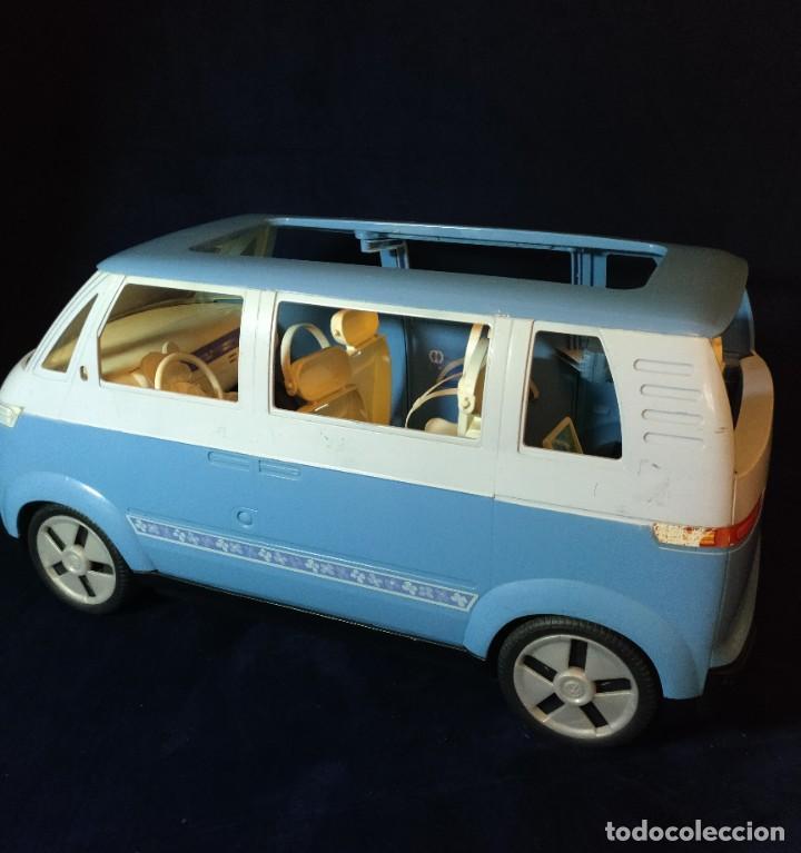 Barbie y Ken: Muñeca BARBIE Nº62 Monovolumen Wolkswagen azul - Foto 7 - 201793880