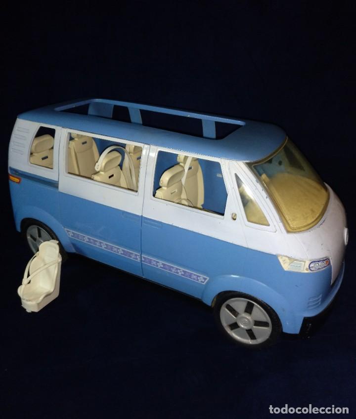 Barbie y Ken: Muñeca BARBIE Nº62 Monovolumen Wolkswagen azul - Foto 8 - 201793880