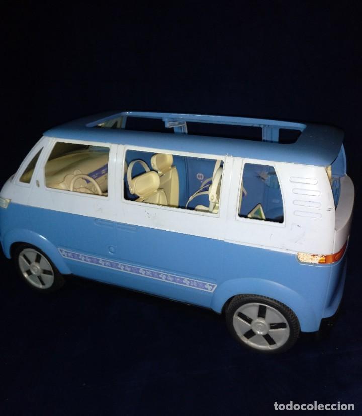 Barbie y Ken: Muñeca BARBIE Nº62 Monovolumen Wolkswagen azul - Foto 9 - 201793880