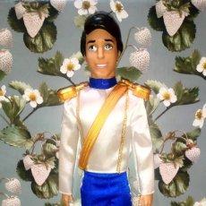 Barbie e Ken: BONITO MUÑECO PRINCIPE ERIC, NOVIO DE ARIEL, DE LA SIRENITA - DISNEY - MATTEL - 2012. Lote 202278432