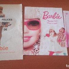 Barbie y Ken: BARBIE LOTE 3 ARTÍCULOS. Lote 202523247
