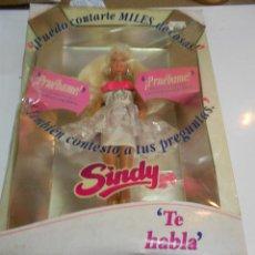 Barbie y Ken: ANTIGUA MUÑECA SINDY TE HABLA NUEVA SIN USAR EN SU CAJA. Lote 203385037