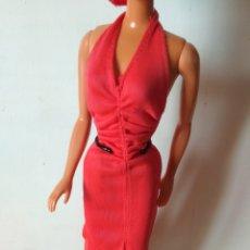 Barbie y Ken: VESTIDO DE BARBIE SUPERSTAR AÑOS 70 MATTEL. Lote 203851546