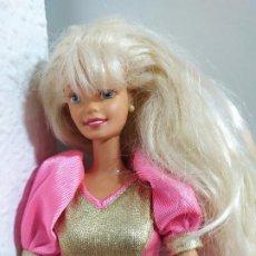 Barbie y Ken: MUÑECA BARBIE RUBIA MATTEL. Lote 204177152