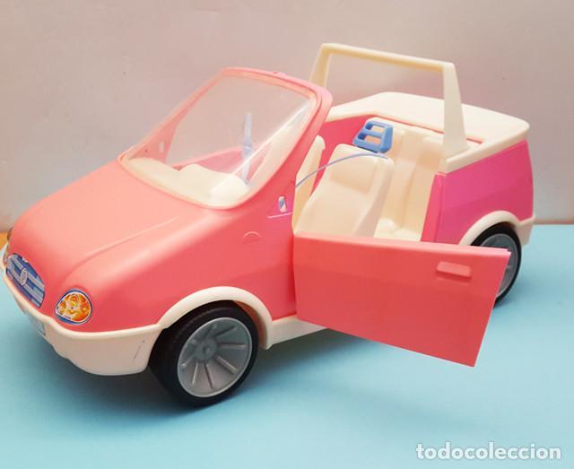 Barbie y Ken: COCHE DESCAPOTABLE 2001 BARBIE, LO QUE SE VE EN LAS FOTOS, CABRIOLET - Foto 2 - 206536427