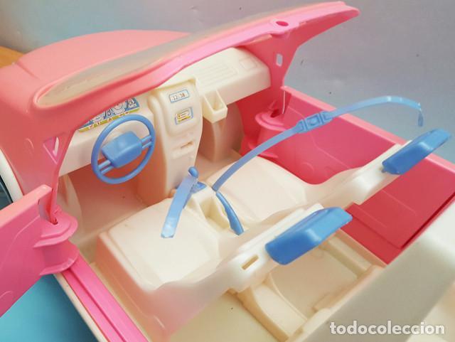 Barbie y Ken: COCHE DESCAPOTABLE 2001 BARBIE, LO QUE SE VE EN LAS FOTOS, CABRIOLET - Foto 6 - 206536427