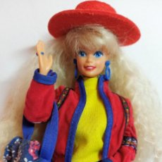 Barbie e Ken: MUÑECA COLECCION Nº10 BARBIE BENETTON SPAIN 1990. Lote 206753846